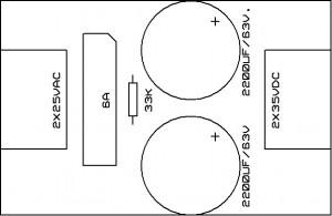 simetrik doğrultmac üst görünüş