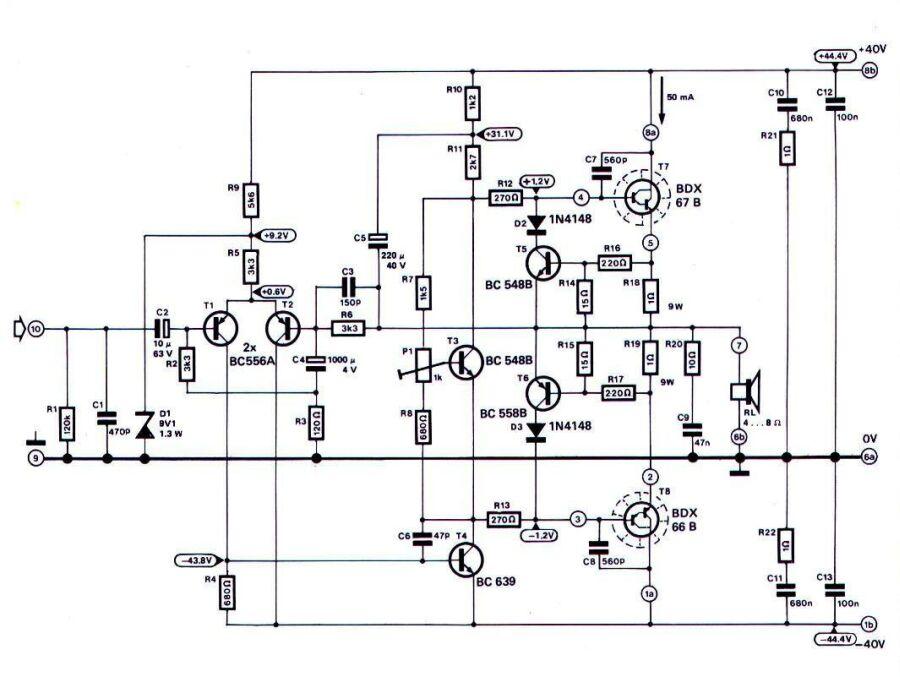 120w hifi amp