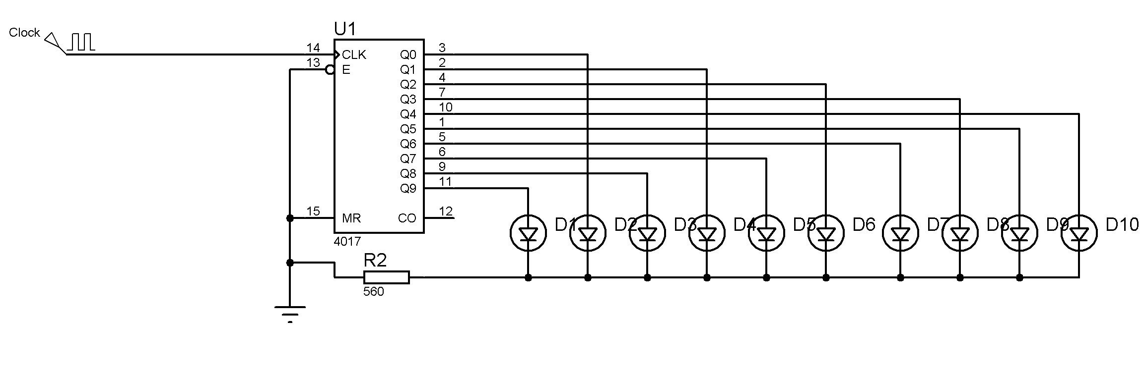 Ee Ii Dnem Temrinleri Elektrik Elektronik Temrinler 2sc2539 Amplifier Circuit Schematic Karaimek 10 Ledli