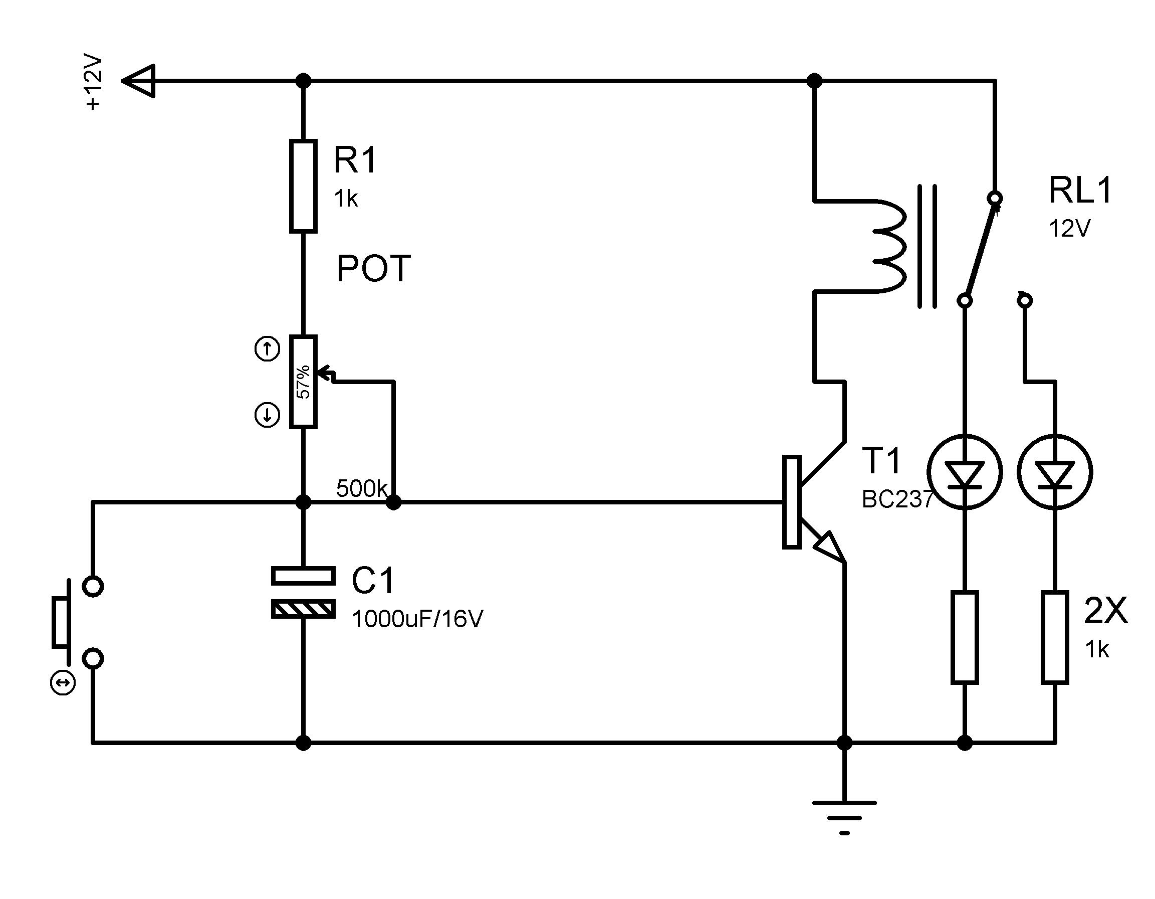 Ee Ii Dnem Temrinleri Elektrik Elektronik Temrinler 2sc2539 Amplifier Circuit Schematic Zaman Gecikmeli Alan Devre Turn On