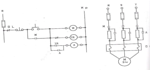 10 asenkron motora bir kademe dirençle yol verme