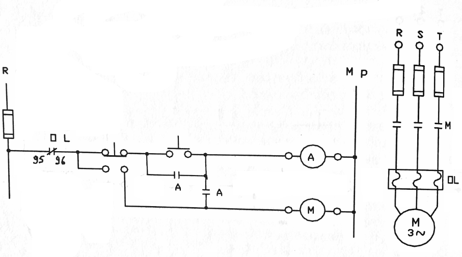 3 asenkron motorun kesik ve sürekli çalıştırılması