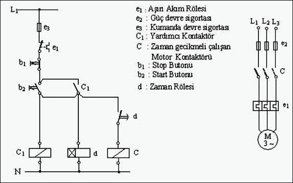 8 asenkron motorun zman gecikmeli olrak çalışması